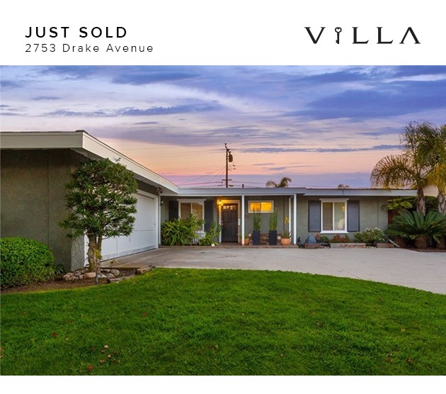 sold | 2753 drake ave | mesa del mar | Costa Mesa