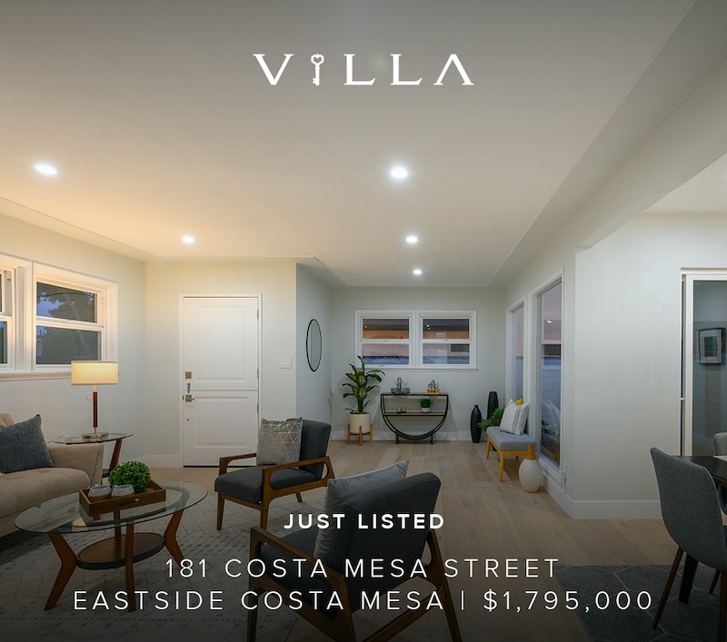 New Multi Unit Listing – 181 Costa Mesa Street | Eastside Costa Mesa | $1.795mm