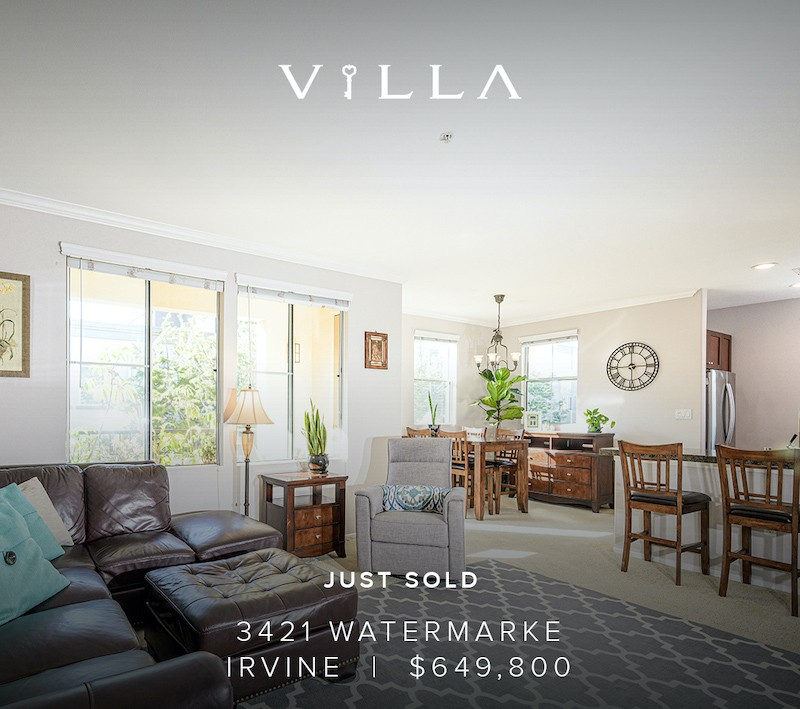 JUST SOLD – fast | 3421 Watermarke, Irvine