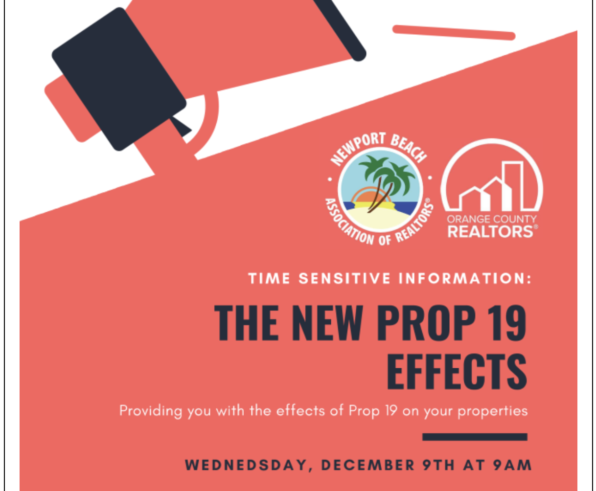 DEVIN LUCAS PRESENTS ON Proposition 19: A Massive Property Tax Hike on Family Transfers Effective February 16, 2021