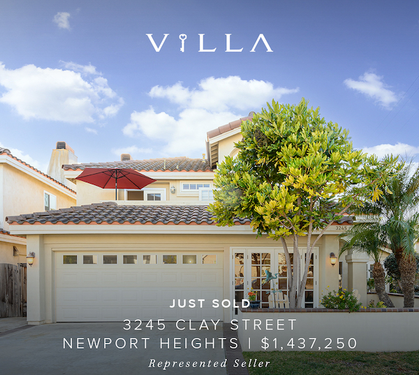 SOLD IN DAYS – 3245 Clay Street | Newport Heights | $1.437mm