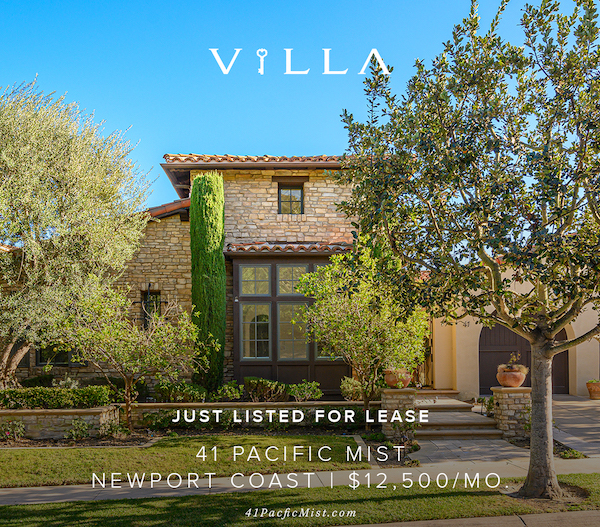 LEASED AND PROFESSIONALLY MANAGED – 41 Pacific Mist | Newport Coast | $13,000/mo.