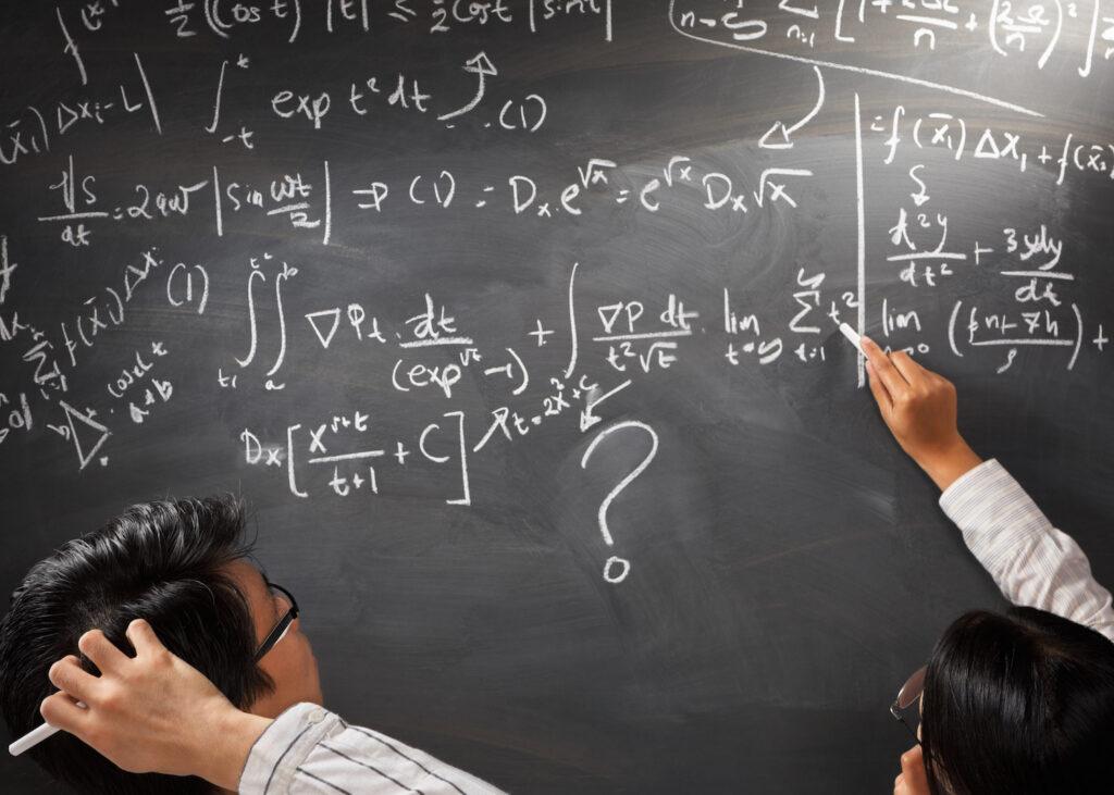 confusing math board